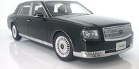 2018 Toyota Century in Black by AUTOart in 1:18 Scale
