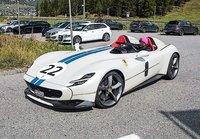 Ferrari Icona SP2 Gloss Bianco Italia w/case in 1:18 scale by BBR
