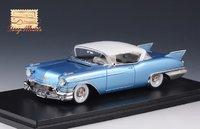 1957 Cadillac Eldorado Seville Bahama Blue Metallic in 1:43 Scale by GLM