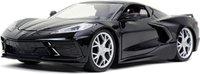 2020 C8 Corvette Stingray in black 1:24 scale by Jada
