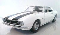 1967 Camaro Z28 White / Black Stripes by Lane Exact Detail in 1:18 Scale