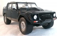 Lamborghini LM002 in Black Model SUV in 1:18 Scale by Kyosho
