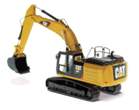 Cat® 336E H Hybrid Hydraulic Excavator in 1:50 scale by Diecast Masters