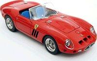 1962 Ferrari 250 GTO Spyder SWB in Red Resin Model Car in 1:43 Scale by Illario