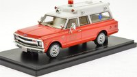 1970 Chevrolet Suburban  Hillside Fire Department in 1:43 Scale by Neo