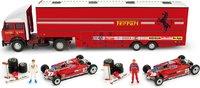 Race Transporter Set Scuderia Ferrari 1981 in 1:43 scale by BRUMM