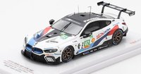 BMW M8 LMGTE #82 2018 WEC Fuji 6 Hr. 2nd Place in 1:43 Scale by Truescale Miniatures
