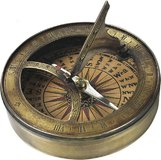 18th C. Sundial & Compass by Authentic Models