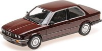 BMW 323I in RED METALLIC Diecast Model Car in 1:18 Scale by Minichamps