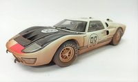 Ford GT40 '66 #98 Daytona 24 Hours After Race in 1:18 scale by Shelby Collectibles