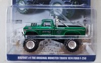 Bigfoot #1 The Original Monster Truck Green Diecast in 1:64 Scale by Greenlight