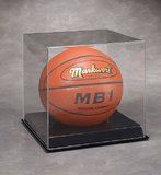 Basketball Display Case: Black