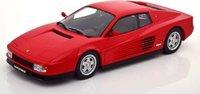 1986 Ferrari Testarossa Red in 1:18 scale by KK Diecast