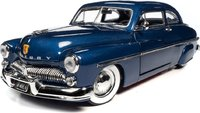 1949 Mercury Coupe Atlantic Blue in 1:18 scale by Auto World