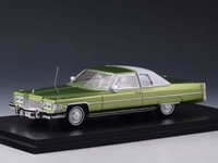 1974 Cadillac Coupe Deville Persian Lime in 1:43 Scale by Stamp Models