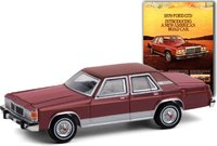 """1979 Ford LTD Sedan """"Introducing A New American Road Car"""" in 1:64 scale by Greenlight"""