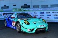 Porsche 911 GT3 R No.44 Falken Motorsports in 1:18 scale by Spark