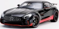 Mercedes-Benz AMG GT R Black Diecast Model in 1:18 by Almost Real