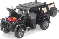 2017 Brabus 550 Mercedes Benz G Class 4x4 Black in 1:18 scale by Almost Real