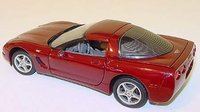 2003 Corvette 50th Anniversary  Diecast Model in 1:24 Scale by The Franklin Mint LAST PIECE