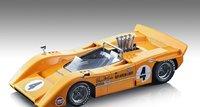 McLaren M8A Can-Am Riverside 1968 Winner #4 Bruce McLaren in 1:18 scale by Tecnomodel
