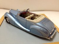1948 Rolls Royce Silver Wraith Cabriolet Franay - Light Metal Blue Resin Model Car in 1:43 Scale by Ilario