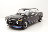 1973 BMW 2002 Turbo Black in 1:18 Scale by Minichamps