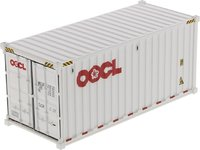 20' Dry Goods Shipping Container in 1:50 scale by Diecast Masters