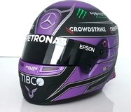 Lewis Hamilton Helmet 2021 F1 Mercedes AMG Petronas in 1:2 scale from BBR