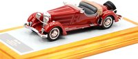 1934 Mercedes-Benz 500K Roadster Sindelfingen Resin in 1:43 Scale by Ilario