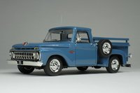 1965 Ford F-100 Stepside Marlin Blue in 1:43 Scale by Goldfarg Collection