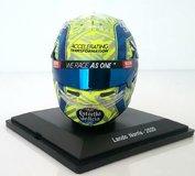 Helmet Lando Norris McLaren 2020 in 1:5 Scale by Spark