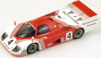1982 Porsche 936 C No.4 , Le Mans Model Car in 1:43 Scale by Spark