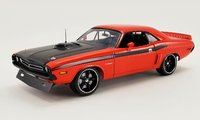 1971 Dodge Challenger R/T Street Fighter Fireball in 1:18 Scale by Acme