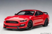 Ford Mustang Shelby GT350R in Red Model Car in 1:18 Scale by AUTOart