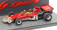 Lotus 72D Austrian GP 1971 Emerson Fittipaldi in 1:43 Scale by Spark