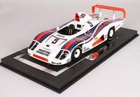 Porsche 936-78 24h Le Mans 1978 Martini Ickx  Pescarolo Mass Con Vetrina in 1:18 scale by BBR