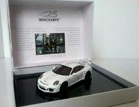 Porsche 911 (991) GT3, 25th Anniversary model in 1:43 scale by Minichamps