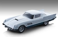 1956 Ferrari 410 Super Fast in White and Metallic blue in 1:18 Scale by Tecnomodel