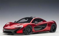 McLaren P1 in Volcano Red in 1:18 Scale by AUTOart