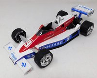"""1979 Cosworth """"The Gould Charge"""", Winner Indianapolis 500, Rick Mears in 1:18 scale by Replicarz"""