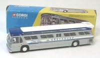 Greyhound Bus, New York World Fair in 1:50 scale by Corgi