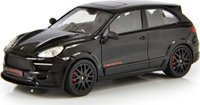2010 Porsche Cayenne 2 Door Coupe by Merdad Black in 1:43 Scale by Esval Models