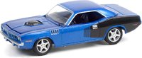 1970 Plymouth Barracuda Custom Hardtop in 1:64 scale by Greenlight