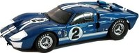 1966 Ford GT40 MK II #2 Diecast Model Car by Shelby Collectibles in 1:18 Scale