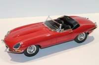 1962 JAGUAR E TYPE roadster RED in 1:12 scale by Norev