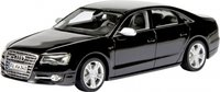 Audi S8 in Havanna Black Model Car in 1:43 Scale by Schuco
