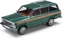 1963 Jeep Wagoneer Hunter Green in 1:18 scale by LS Collectibles