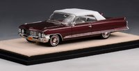 1962 Cadillac Series 62 Convertible Closed Top in 1:43 scale by Stamp Models