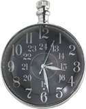 Eye of Time Clock, Nickel by Authentic Models